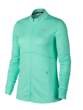 Nike Dames Dry Full Zip Top - Mint
