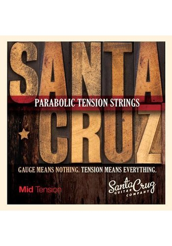 Santa Cruz Santa Cruz Parabolic Tension Strings, Mid Tension
