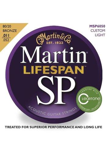 Martin Strings Martin SP Lifespan Bronze  MSP6050 .011-.052 Custom Light strings