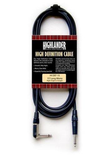 Highlander Highlander HDM Gitaar kabel 4.5m