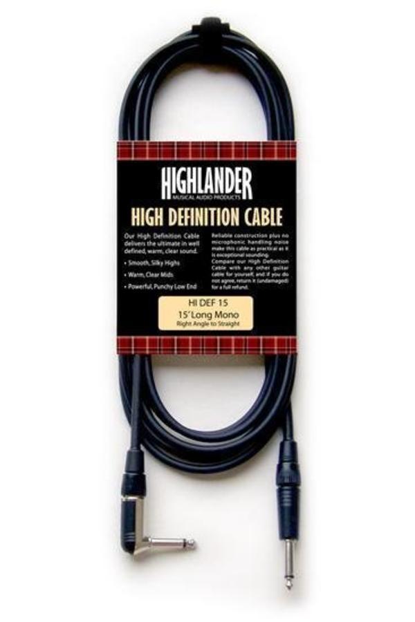 Highlander HDM Gitaar kabel 4.5m