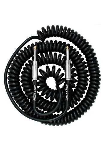 Bullet Cable Bullet Cable 9M BC-30CC Coil Black Straight - Straight