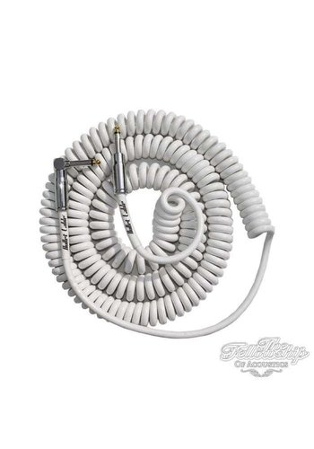 Bullet Cable Bullet Cable 9M Coil White BC-30CCW Straight - Angled