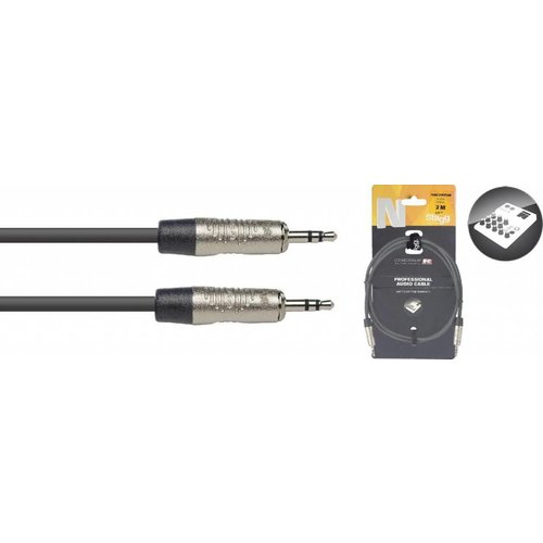 Stagg Stagg NAC2MPSR 2M Audiokabel Mini Stereo Jack