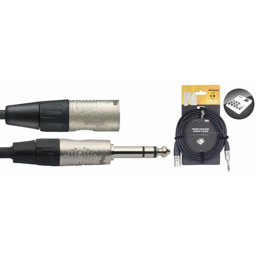 Stagg Stagg NAC6PSXMR Stereo Jack Male - XLR Male