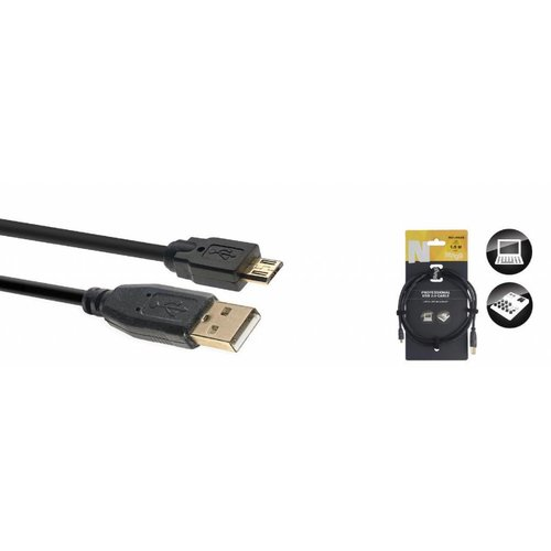 Stagg Stagg NCC1 5AUB 1.5M USB 2.0 A-B Cable