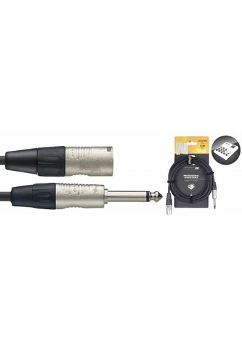 Stagg Stagg NAC3PXMR 3M Audio Cable Mono Jack Male - XLR Male