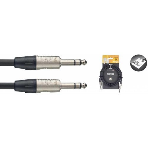 Stagg Stagg NAC3PSR 3M Stereo Jack Male - Stereo Jack Male