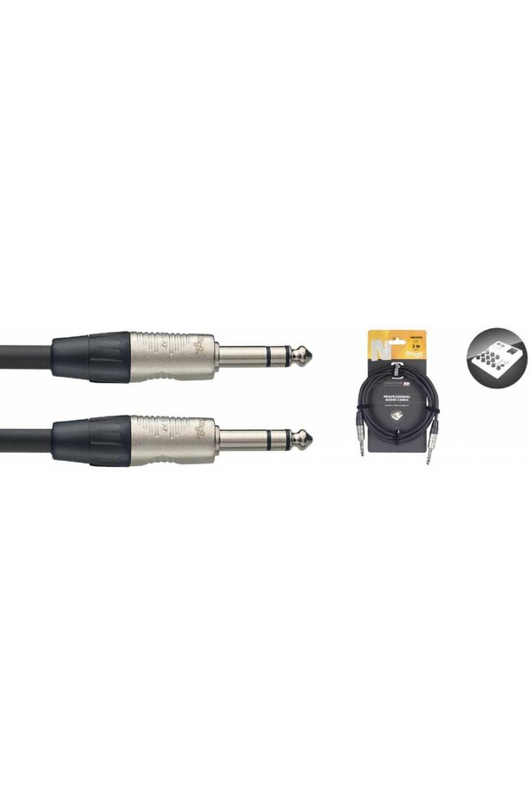 Stagg NAC3PSR 3M Stereo Jack Male - Stereo Jack Male