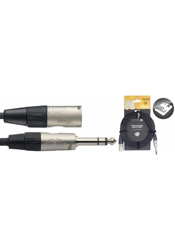 Stagg Stagg NAC1PSXMR 1M Audiokabel XLR - Stereo Jack