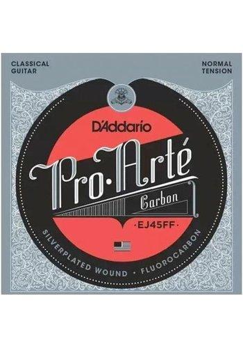D'addario D'addario Pro-Arte Carbon EJ45FF Dynacore Basses Normal Tension