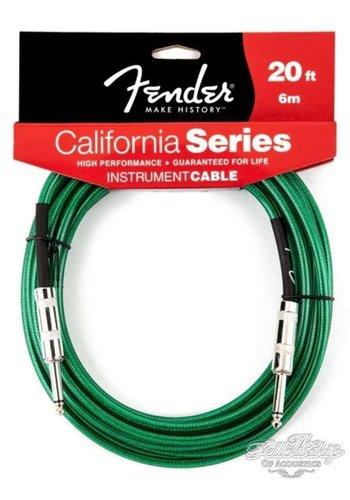Fender Fender California Instrument Kabel 6m Surf Green