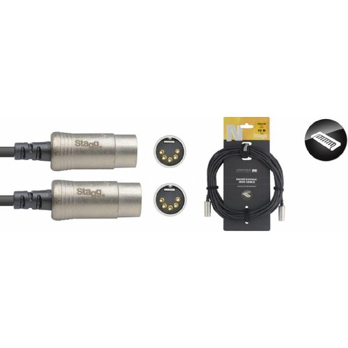 Stagg Stagg NMD10R 10M Midi Cable