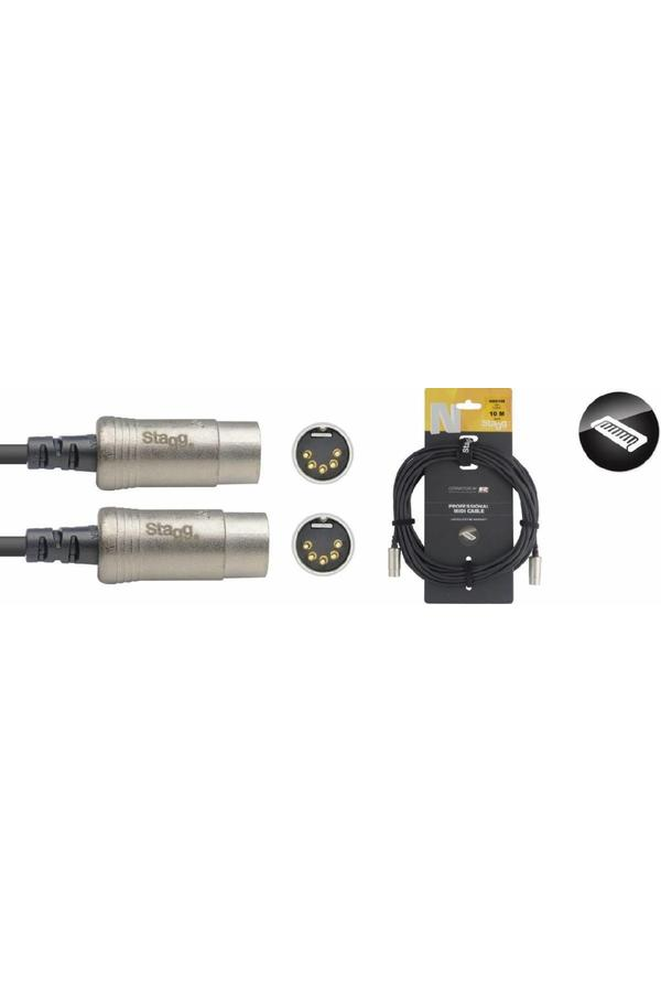 Stagg NMD10R 10M Midi Cable