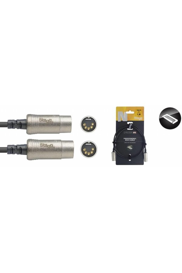 Stagg NMD1R 1M Midi Cable