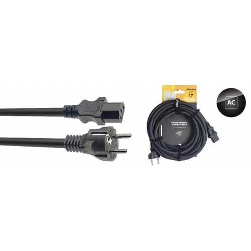Stagg Stagg NPW 5-Meter Power Cable Schuko EU