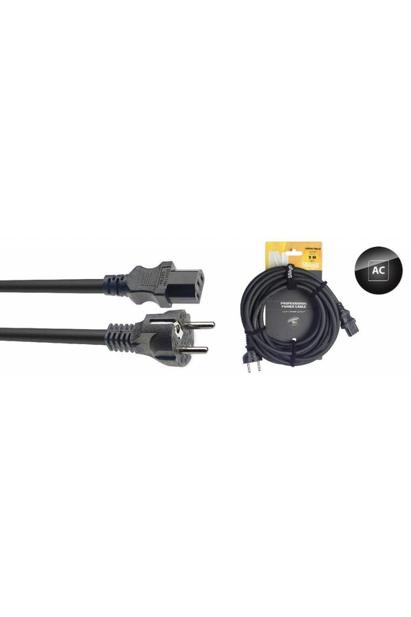 Stagg NPW 5-Meter Power Cable Schuko EU
