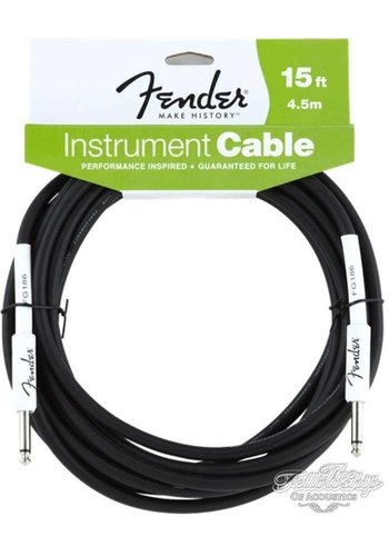 Fender Fender Performance Series Instrument Kabel 4.5m Black Straight-Straight