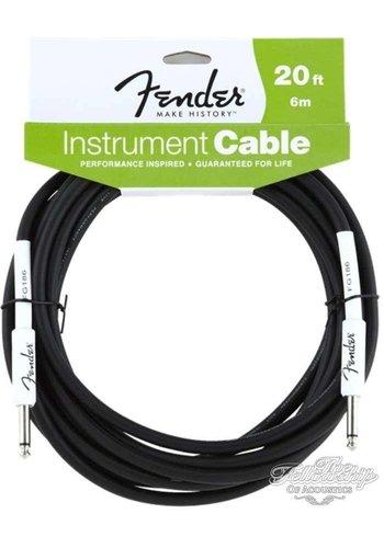 Fender Fender Performance Series Instrument Kabel 6m recht