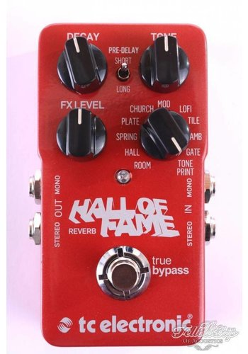 TC Electronic TC Electronics Hall Of Fame Reverb Pedal, NEW