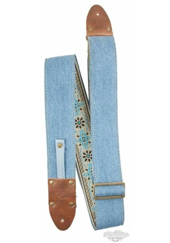 LM Straps LM Straps Vintage Denim The Mom Jean Blue