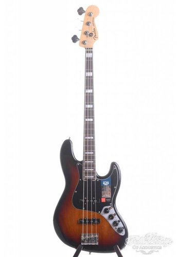 Fender Fender American Elite Jazz Bass 3-tone Sunburst RW