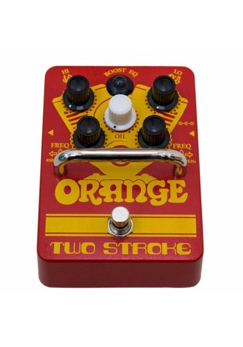 Orange Orange Two Stroke Boost Pedal