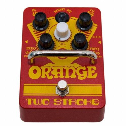 Orange Orange Two Stroke Boost Pedal