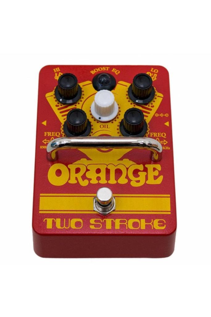 Orange Two Stroke Boost Pedal