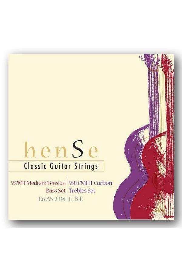 Hense 557MT + 558CMHT Klassieke gitaar Bass Set+Treble Set