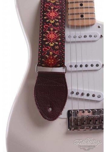 Souldier Souldier Guitar Strap - Hendrix Maroon