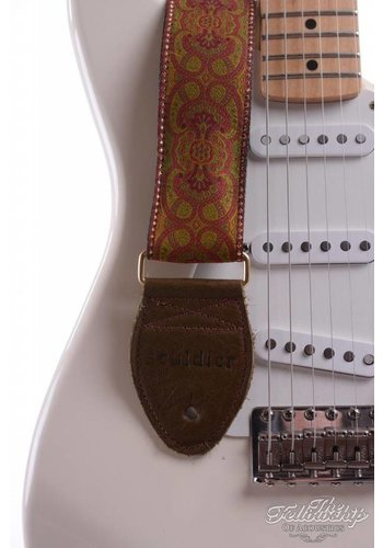 Souldier Souldier Guitar Strap - Arabesque Red