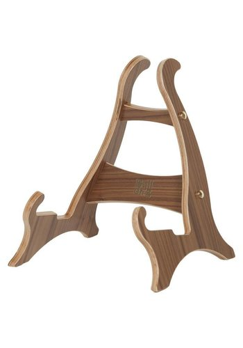 Bulldog Mini Dragon American Walnut, Small Wooden Guitar Stand