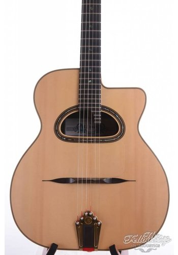 Aylward, Rob Rob Aylward D-hole ziricote gypsy guitar