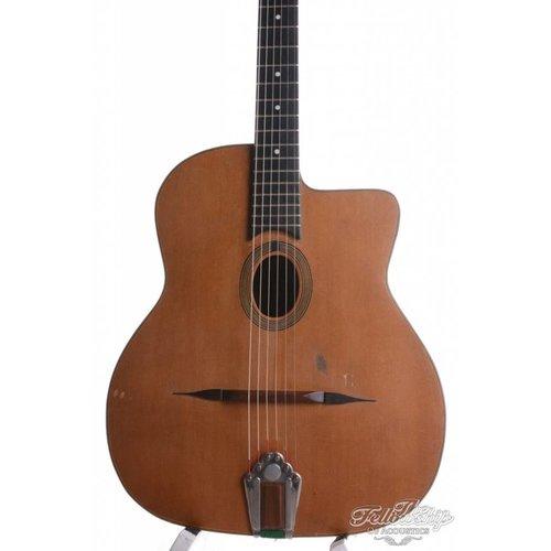 Rino van Hooijdonk Rino van Hooijkdonk Favino style relic gypsy guitar 2016