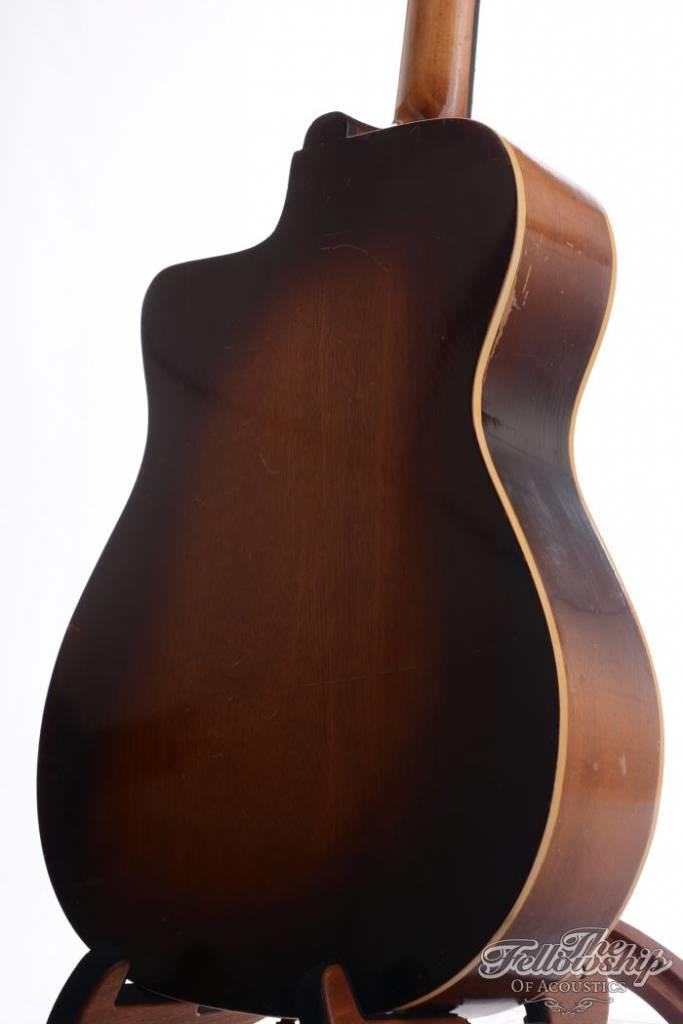 Couesnon Model 3054 vintage Gypsy Flattop sunburst (1950s) Sold as is