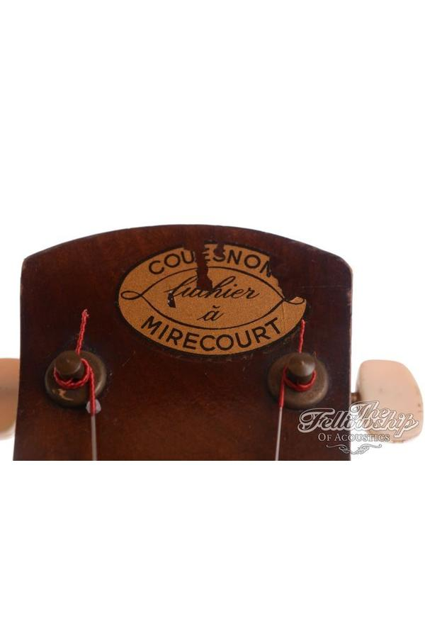 Couesnon Model 3054 vintage Gypsy Flattop sunburst (1950s)