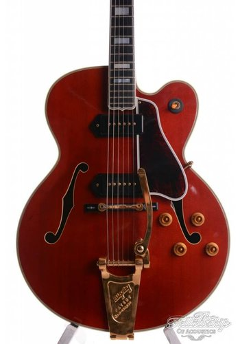 Gibson Gibson L5CES P90 Bigsby Jim Hutchins Master Model Cherry red 1994