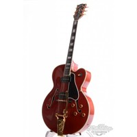Gibson L5CES P90 Bigsby Jim Hutchins Master Model Cherry red 1994