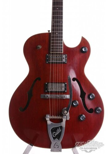 Guild Guild Starfire III Special 1965 vintage guitar faded Cherry Red