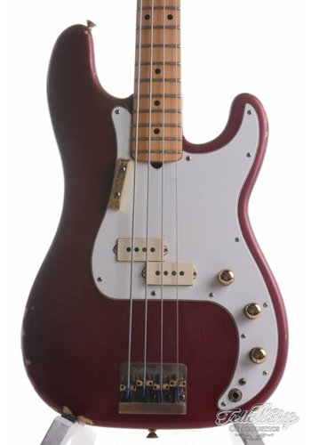 Fender Fender Precision Special Bass Candy Apple Red 1980
