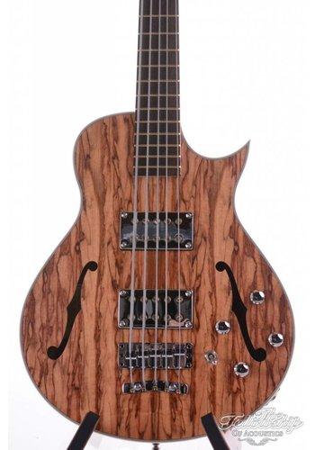 Warwick Warwick Star Bass II SC Tigerwood 5 Natural Satin Masterbuilt