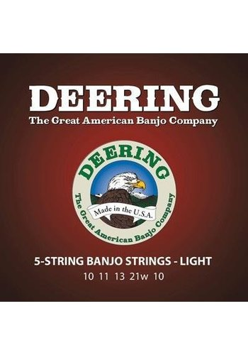 Deering Deering Light Gauge 5-string Banjo Strings