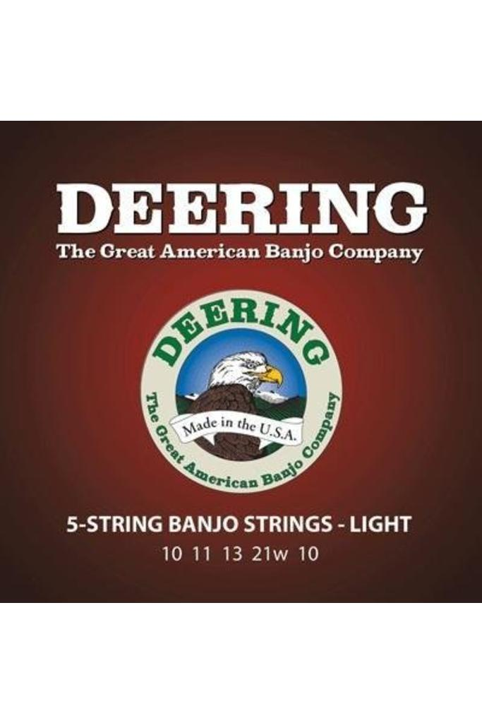 Deering Light Gauge 5-string Banjo Strings