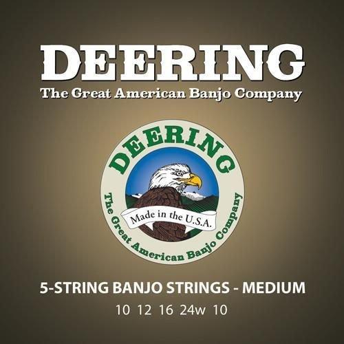 Deering Deering Medium Gauge 5-string Banjo Strings