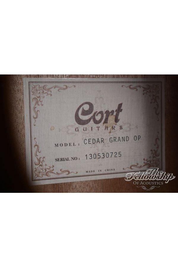 Cort Cedar Grand OP 2013