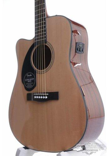 Fender Fender CD60SCE LH NAT Lefty Solid Top Dreadnought