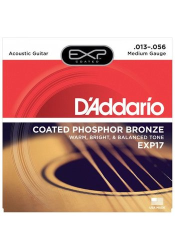 D'addario D'Addario EXP17 Coated Phosphor Medium 13-56