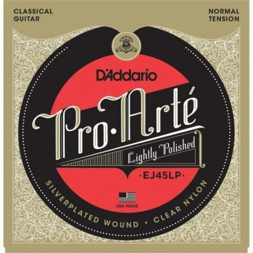 D'addario D'Addario EJ45LP Pro-Arté Lightly Polished Composite Normal Tension