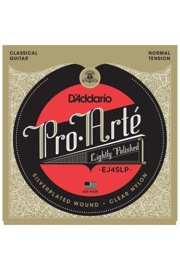 D'Addario EJ45LP Pro-Arté Lightly Polished Composite Normal Tension